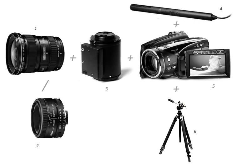 Canon HV-30 camcorder setup, jag35
